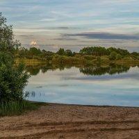 """Вечер на озере """"Мечта"""" :: Андрей Дворников"""
