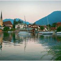 Баварское озеро Тегернзее . :: Игорь Абламейко