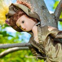 Леди на дереве :: Света Кондрашова