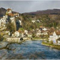 Швейцария из окна поезда . :: Игорь Абламейко