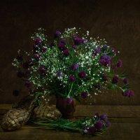 Лапти с полевыми цветами :: Вера