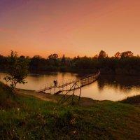 Свиданьице на мосту. :: Мила Бовкун