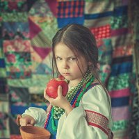Марфутка из сказки Морозко :: Ольга Васильева