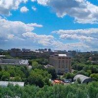Моя Москва! Вид из окна. :: Ирина Н