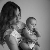 Мама с дочкой :: Евгения Кузнецова