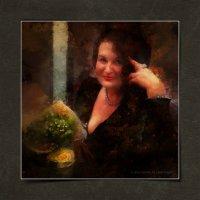 Портрет дамы в чёрном :: Станислав Лебединский