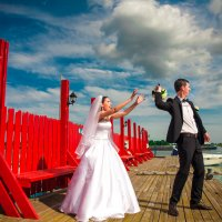 Веселье на свадьбе :: Марина Алексеева