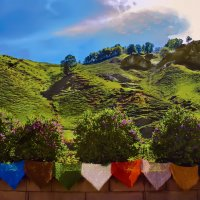 Летние краски Кавказа :: Виктор Заморков