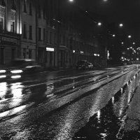 Мокрый город :: Людмила Волдыкова