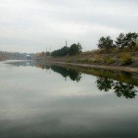 Новосибирский шлюз.  Нижне-подходной канал :: Алексей (АСкет) Степанов