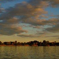Вечернее небо над Доном. :: владимир