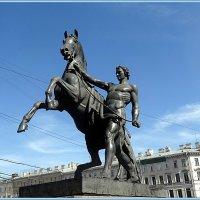 """Аничков мост. """"Конь с идущим юношей"""" :: Вера"""