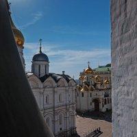 Вид на Соборную площадь с колокольни Ивана Великого :: Надежда Лаптева
