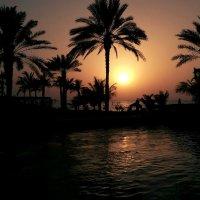 Закат в madinat jumeirah :: Александр Цапликов
