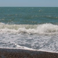 разыгралось Черное море... :: leoligra