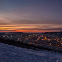 Зимний закат :: Игорь
