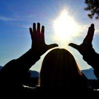 солнце в руках :: Dasha Ridel