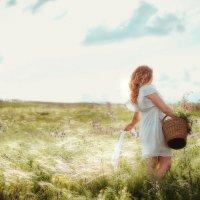 Девушка в поле :: Валерия Ступина