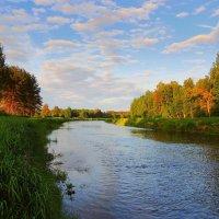 И тихий, летний вечер опустился над рекой :: Павлова Татьяна Павлова