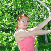 В ветвях березы :: Сергей Тагиров