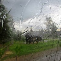Хорошо когда дождь... за окном :: Ирина Румянцева