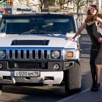 Я у лимузина Hummer :: Дина Мазаник