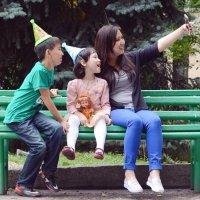 Семейное selphy :: Асылбек Айманов