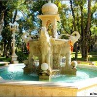 Кабардинка. Индийский фонтан в Старом парке :: Нина Бутко