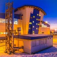 Здание бассейна :: Максим Никитенков