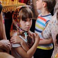 Троица Святая, слава Тебе! Божественная Литургия. :: Геннадий Александрович