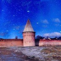Смоленская крепостная стена - ночь. :: Aleksandr Ivanov67 Иванов