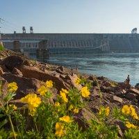 Красноярская ГЭС :: Виталий Пылаев