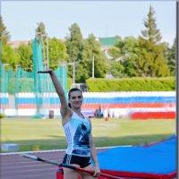 На чемпионате по легкой атлетике день первый. :: Юрий Ефимов
