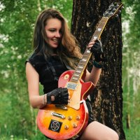Соло на гитаре :: Сергей Алексеев