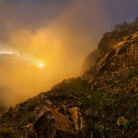 После ливня, или восхождение на гору Змейка. :: Фёдор. Лашков