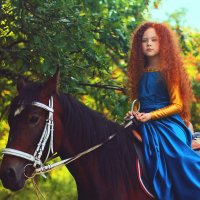 Храбрая Сердцем :: Alena Skazka