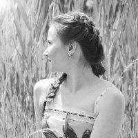 девушка в поле :: Kseniya Logan