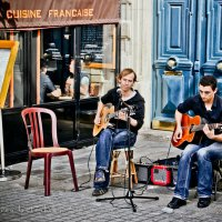 Les musiciens. Paris :: Yanina Gotsulsky