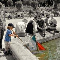 Детство. Jardin du Luxembourg. Paris :: Yanina Gotsulsky