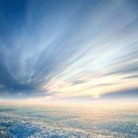 Холодный закат :: Владимир Мельников