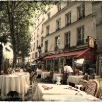 Парижский ресторанчик :: Yanina Gotsulsky