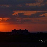 Красивый вид уходящего солнца ... :: Дмитрий Призрак