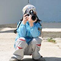 Маленький фотограф :: Юлия Петлякова