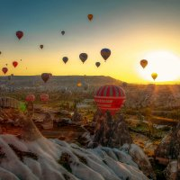 парад воздушных шаров :: Виталий Сидоренко