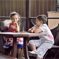 Свидание в кафе :: Самир Аббасов