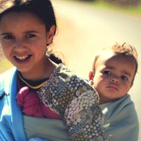 марокканские сестра и братик :: Алёна Писаренко