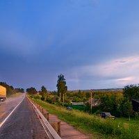 Дорога уходит в грозу :: Анатолий Тимофеев