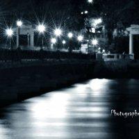 Мост - вечер - фонари ... :: Дмитрий Призрак