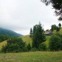 домик в горах :: Яна Панасюк