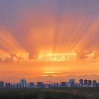 Апокалиптический закат :: Виталий Авакян